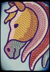cheval sequin